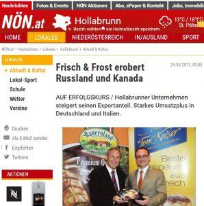 Auf Erfolgskurs NÖN Gerfried Pichler Peter Harrer 2011