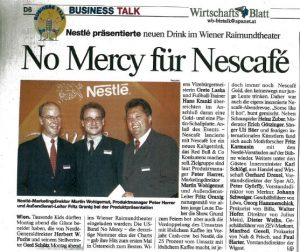 Nescafe Ice Event Peter Harrer 1997