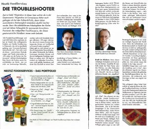 Nestle Foodservice Troubleshooter Peter Harrer 2004
