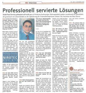 Neue Businessstrategie Nestle Peter Harrer 2004