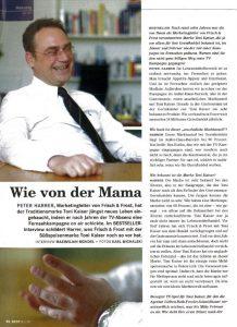 Neue Markenkampagne I Peter Harrer 2008