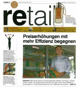 Preiserhöhung Umsetzen 2008 Peter Harrer