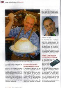 Schihütten Bestseller Peter Harrer 2013