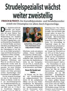 Umsatzwachstum 2007 Gerfried Pichler Peter Harrer